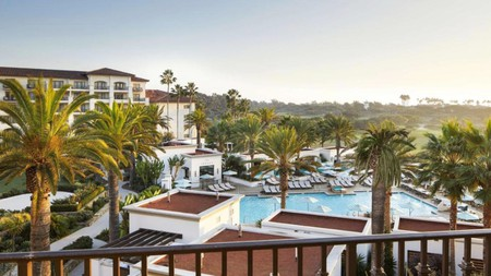 After exploring Irvine Regional Park, you can keep the natural beauty coming at the Waldorf Astoria Monarch resort