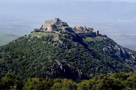 Nimrod Fortress at the Golan Heights, Israel