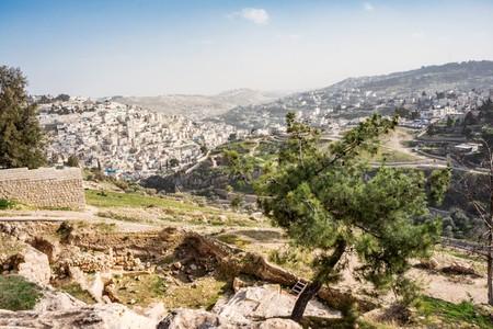 Mount of Olives on Old Jerusalem city, Israel