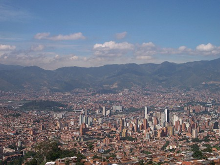 Panorámica de Medellín, Colombia | © jduquetr/wikicommons