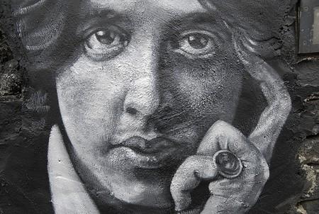 Oscar Wilde painted portrait | Thierry Ehrmann/Flickr