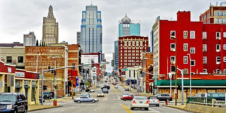 Grand Blvd In Downtown Kansas City