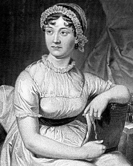 A portrait of Jane Austen | WikiCommons