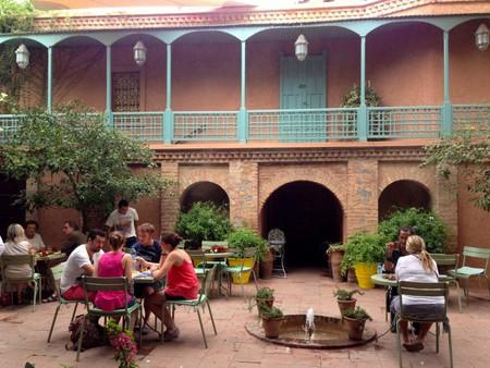 Jardin Majorelle Café Marrakech – Sept 2014