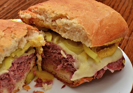 Corned Beef Sandwich   © jeffreyw/Flickr