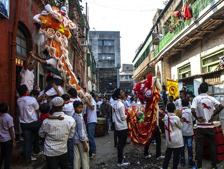 Preparations for Chinese New Year at Chinatown / ©Indrajit Das / WikiCommons