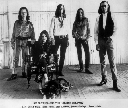 Janis with Big Brother and The Holding Company   © Wehope/WikiCommons
