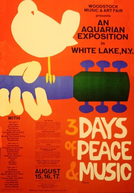 Woodstock Music Festival/1969 | © David/Flickr