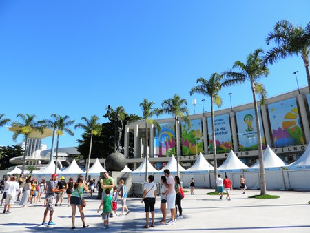 Whilst it is commonly known as Maracanã, its official name Mário Filho is engraved on the outside of the stadium | ©Jules/Flickr