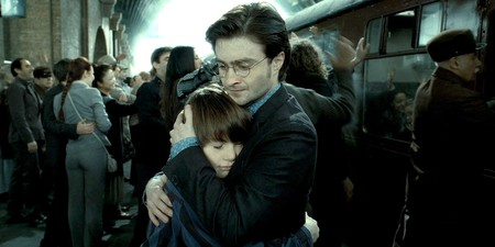 Harry and his son Albus | © Warner Bros.
