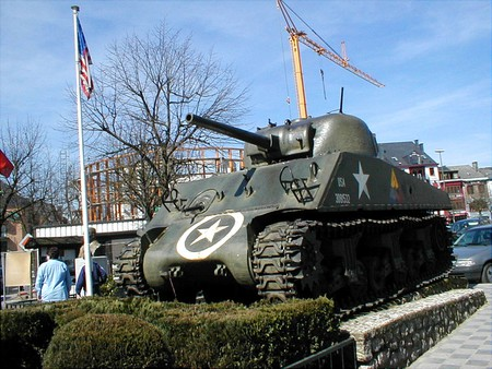 A US tank used during WWII in the heart of Bastogne | © Agrillo Mario/Wikimedia Commons