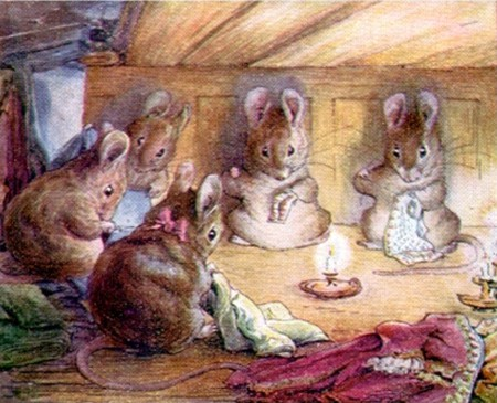 The mice who help the tailor © WikiCommons
