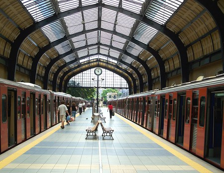 The terminal of the Athens-Piraeus Electric Railway (Metro system green line) at Piraeus | © Badseed/WikiCommons