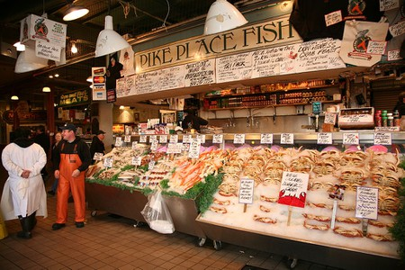 Pike Place Fish | © Daniel Schwen/WikiCommons