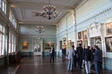 The Long Room at Lord's| ©DieSwartzPunkt/Wikicommons