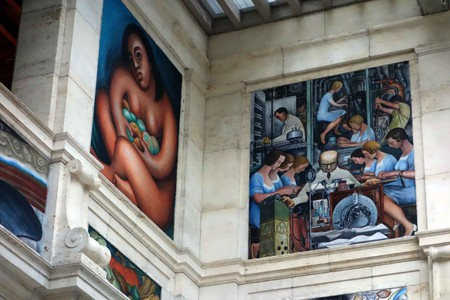 Diego Rivera, Detroit Institute of Arts | © Mike Steele/Flickr