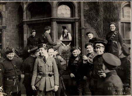 A group of 'Black and Tans' and Auxiliaries in Dublin, April 1921