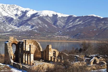 lake Prespa in Greece