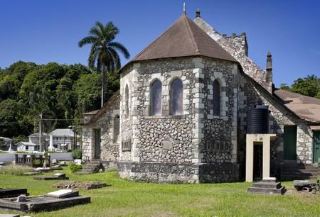 Colonial church in Jamaica