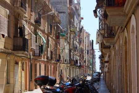 The backstreets of La Barceloneta | © Stéphane Goldstein