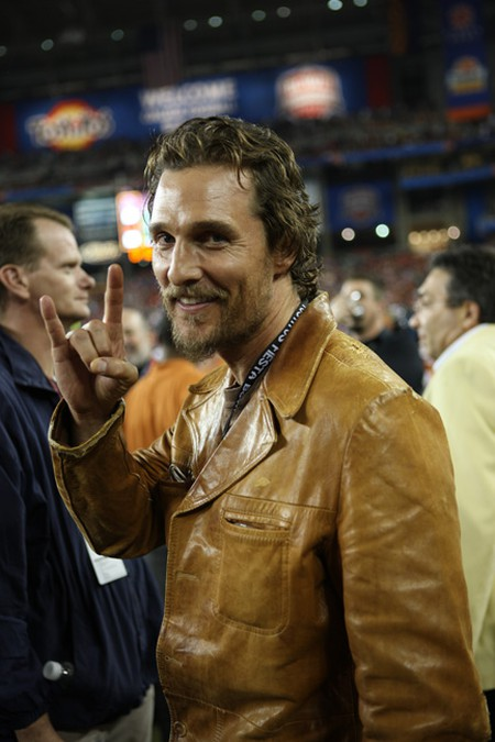 Matthew McConaughey © Erik Thureson / Fox Sports