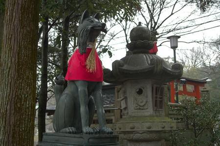 Fox at Fushimi Inari Taisha