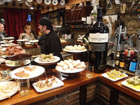 Pintxos bar in Donostia - San Sebastian