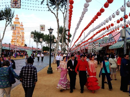 Seville´s feria now has over 1,000 individual marquees; Edmund Gall, flickr