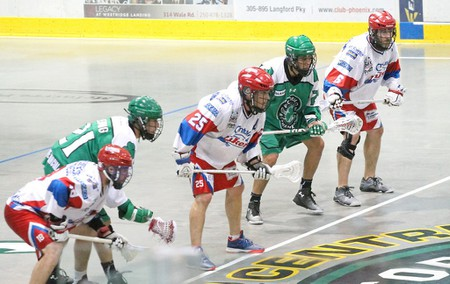 Playing for the 2015 MANN Cup and to become Canada's Senior Men Champions