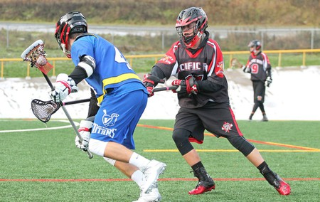Young Canadian field lacrosse players today