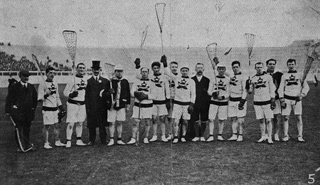 1908 Canadian Olympic Lacrosse Team
