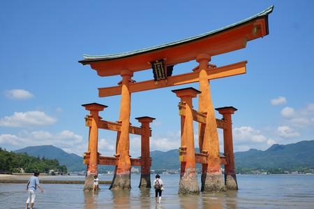 Itsukushima Shrine in Hiroshima Prefecture
