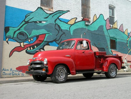 Dragon Mural in Nashville / (c) Andrew Duthie / Flickr