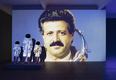 Halil Altindere, Space Refugee, installation view, n.b.k., Berlin, 2016. Photo ©CHROMA. Courtesy the artist and Pilot Gallery, Istanbul
