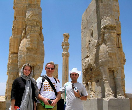 Visitors tour Persepolis   © Fulvio Spada / Flickr