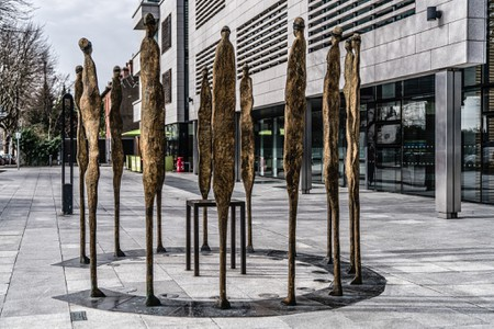 Proclamation monument by Rowan Gillespie | © William Murphy/Flickr
