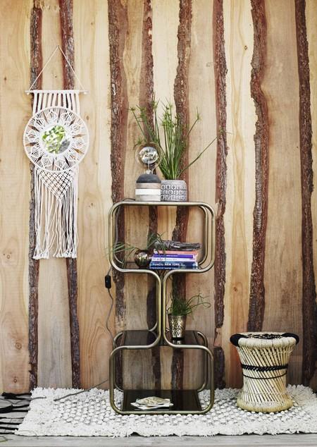 Antique Brass Shelf Unit by MadamStoltz | © ARBOL House
