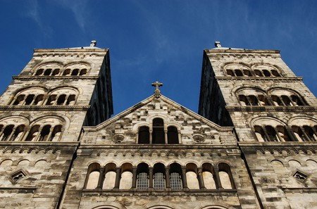 Lund's famous romanesque cathedral