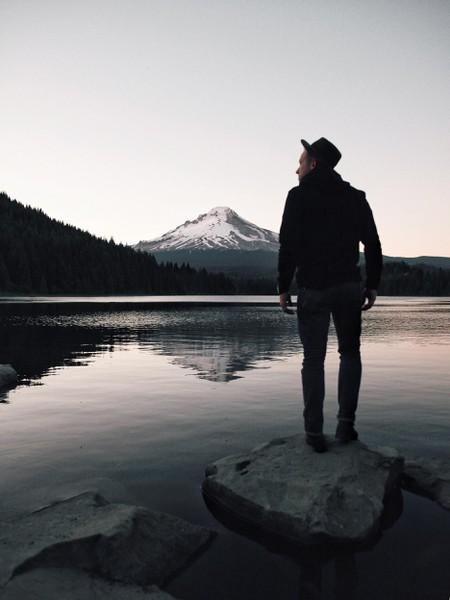 Trillium Lake + Mount Hood | Courtesy of Ian Andrew Nelson