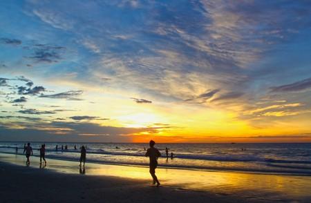 Running on the beach   publicdomainpictures