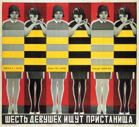 Image result for constructivism soviet film poster