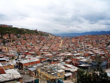 Slums of Bogota, Colombia