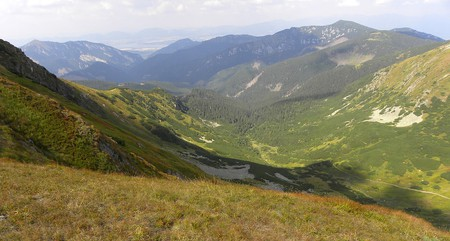 Hiking Chopok in the Low Tatras