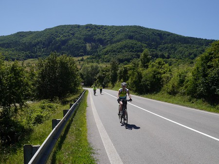 Cycle through nature in Slovakia