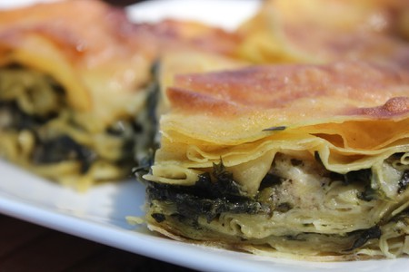 Byrek is one of the most famous food of the Balkan Peninsula