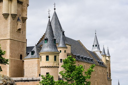 The Alcazar of Segovia © Eirien
