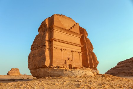 Ancient Mada'in Saleh in Saudi Arabia | © cpaulfell/Shutterstock