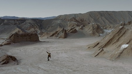 An earthbound lunar landscape