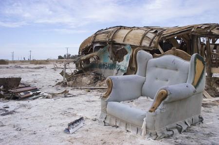 Salton Riviera Became An Abandoned