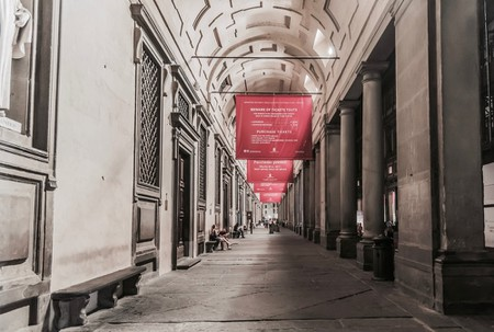 Gallery of the Uffizi, Florence, Italy